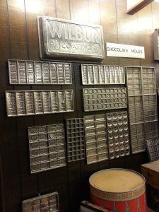 Chocolate factory molds